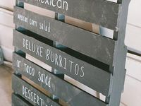 Give your wedding signage some personality!