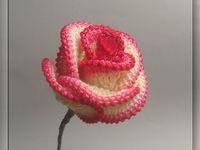 Free Crochet Pattern For Cabbage Rose : 17 Best images about PARA PROYECTO DE BOLSA CON FLORES DE ...