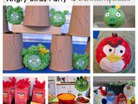 Fête angry bird