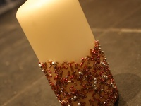 A variety of different ways to make and decorate candles