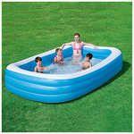 Bestway Rectangular Family Pool Family Pool Rectangular Pool Portable Swimming Pools