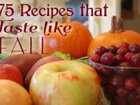 Fall/Thanksgiving Recipes & Decorating