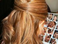 The elegance of hair