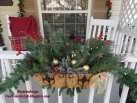 1000 images about christmas balcony on pinterest for Christmas balcony decorating ideas
