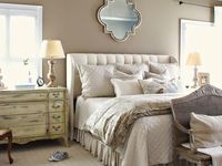 17 best images about master bedroom on pinterest paint - Deco chambre campagne chic ...