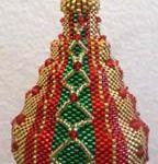 Christmas Ornaments - Beaded