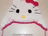 Crochet-adult and children's hats