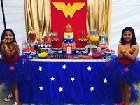 Bday party - wonder woman