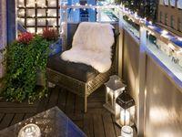 70 besten balkon ideen bilder auf pinterest garten terrasse garten pflanzen und g rtnern. Black Bedroom Furniture Sets. Home Design Ideas