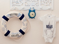 Ideas for the baby and Addie's rooms... play, imagine and create