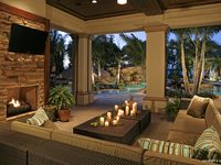 Outdoor Spaces and Pools