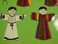 Sunday school lessons, crafts, songs, word searches, mazes and games on Joseph in the Bible.