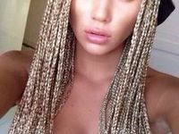 Crochet Hair On White Girl : ... about Braids on Pinterest Box braids, White girls and Crochet box