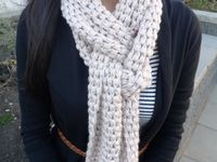 Crochet Scarves/Cowls
