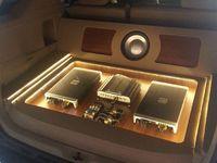 Cadillac CTS custom car stereo trunk install. no ... |Stormtrooper Car Audio Custom Trunk Install
