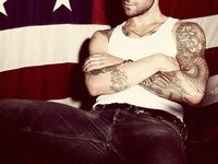 Adam Levine (The most attractive man you'll ever see) ;)