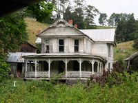 Abodes that have been neglected. The places were once homes filled with families and the events and emotions that occur. It is so sad to see these homes abandoned and falling apart.