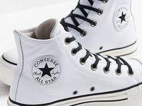 zapatillas tipo converse mujer plataforma piel