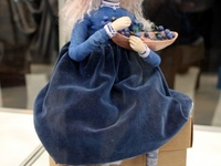dolls,doll clothes and houses