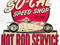 Personalized Hot Rod Garage Sign Rat Rod Drag Racing Vintage Retro Wall Art