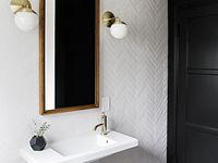 {new home. hall bath}