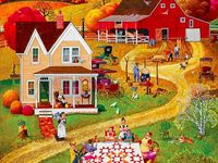 56 Best Images About Puzzles On Pinterest Folk Art Auction And Barn Dance