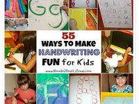 ideas for helping kids with #handwriting