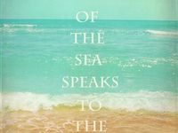 peace and serenity.  Pictures of the ocean.  Pictures of decorating that invokes an ocean/coastal theme