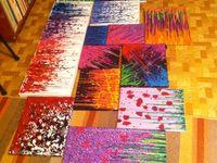 Crayon art, projects, melting....