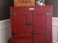 86 best images about antique ice boxes on pinterest erin martin cabinets and side by side. Black Bedroom Furniture Sets. Home Design Ideas