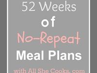 Menu/Meal/Grocery/Coupon Planning,Resources,DIY's,Printables,& Information