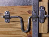 Cerradura de Puerta mec/ánica Duradera para Seguridad de Puerta Gabinete antirrobo para el hogar NATRUSS Cerradura de Puerta antirrobo Open Right