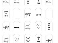 :Printables⎙, Photoshop, Blog, and Fonts:
