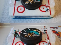 1000+ images about Birthday Cakes on Pinterest  San jose sharks, Joe ...