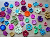 A collection of gorgeous crochet flowers - either pictures for inspiration or with instructions.