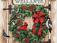Cross Stitch- Holidays
