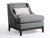 A plain chair is easy to find; I prefer that at least one chair in a room doesn't blend.