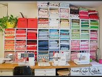 sewing and craft room love