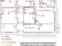 Planos Electricos De Una Casa Plano Eléctrico Hacer Planos De Casas Planos De Casas Pequeñas