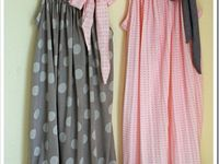 PILLOW CASE DRESSES AND GIRLS' CLOTHES TUTORIALS