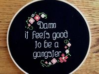 Cross stitch, embroidery, mixed media, and all the stuff I love and don't have time to make.