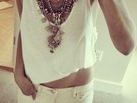 statement jewels, sparkle + gems