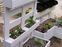 Palettes jardinières
