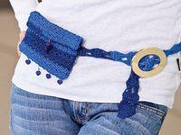 Crocheted Belts