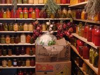 canning and gardening