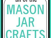 Mason Jar & TP & Cork Ideas