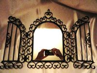 16 Best Wrought Iron Mirrors Images On Pinterest Wrought Iron Irons And Bathroom Mirrors