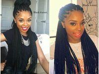 Braids , it's a black girl thang