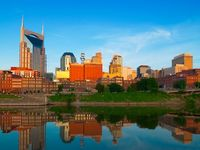 Nashville, the city of my birth - still my hometown years after I moved away.