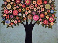 Art - Trees and flowers